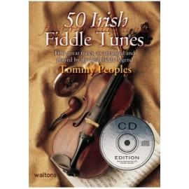 50 Irish Fiddle Tunes Bk/Cd