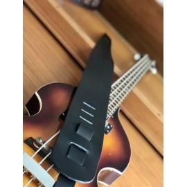Liam's Handmade Leather Bass Guitar Strap