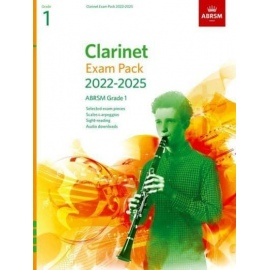 ABRSM Clarinet Exam Pack from 2022 Grade 1
