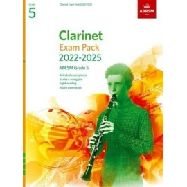 ABRSM Clarinet Exam Pack from 2022 Grade 5