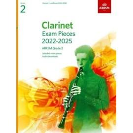 ABRSM Clarinet Exam Pieces from 2022 Grade 2