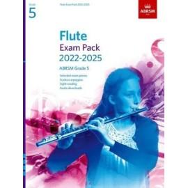 ABRSM Flute Exam Pack from 2022 Grade 5