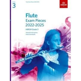 ABRSM Flute Exam Pieces from 2022 Grade 3