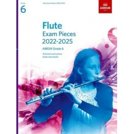 ABRSM Flute Exam Pieces from 2022 Grade 6
