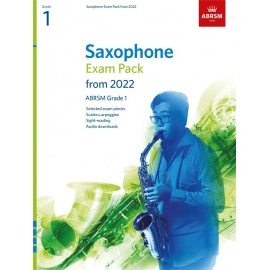 ABRSM Saxophone Exam Pack from 2022 Grade 1