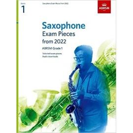 ABRSM Saxophone Exam Pieces from 2022 Grade 1