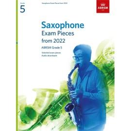 ABRSM Saxophone Exam Pieces from 2022 Grade 5