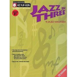 Jazz Play Along: Volume 31 - Jazz In Three