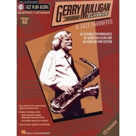 Jazz Play Along: Volume 43 - Gerry Mulligan
