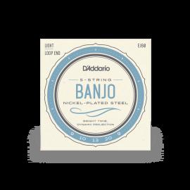 Nickel-Plated 5-String Banjo Strings