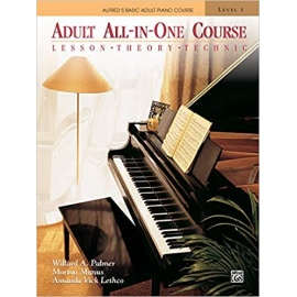 Alfred All In One Course - Adults (Book Only)