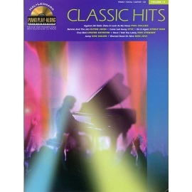 Piano Play-Along Volume 14: Classic Hits Book&CD