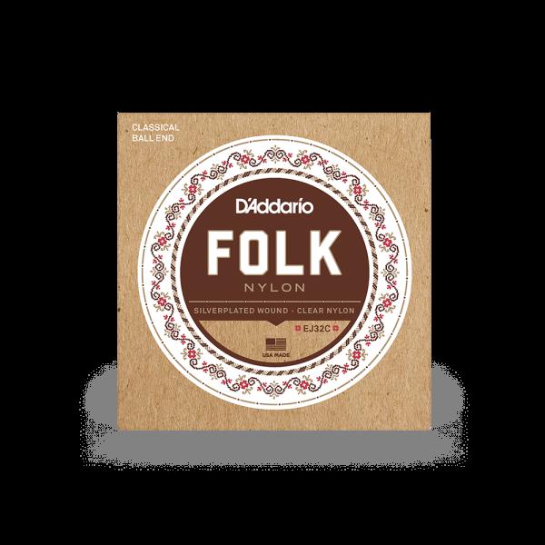 Folk Nylon Ball End Acoustic/Classical Guitar Strings