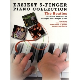 Easiest 5 Finger Piano Collection: The Beatles