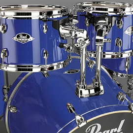 "Export 20"" 5-Piece Drum Kit in High Voltage Blue"