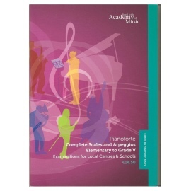 Royal Irish Academy Complete Scales and Arpeggios Elementary-Grade 5