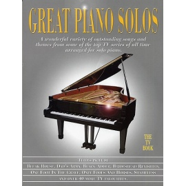 Great Piano Solos The TV Book