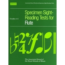 ABRSM Specimen Sight-Reading Tests for Flute Grades 1-5