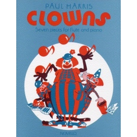 Clowns Seven Pieces for Flute and Piano by Paul Harris