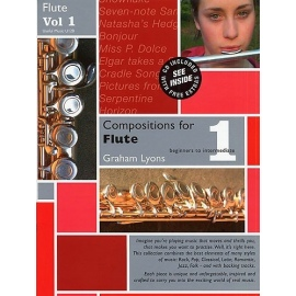 Compositions for Flute Volume 1 with CD