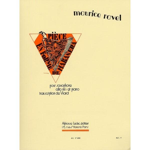 Maurice Ravel Piece En Forme De Habanera