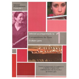 Selected accompaniments to Compositions for Flute Volume 1