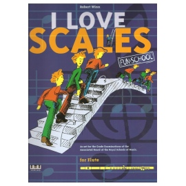 I Love Scales for Flute by Robert Winn