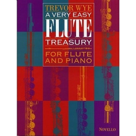 A Very Easy Flute Treasury for Flute and Piano