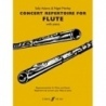 Concert Repertoire for Flute by Sally Adams and Nigel Morley