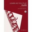 Learn as you Play Flute with CD