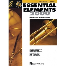 Essential Elements 2000, B Flat Trombone - Book 1 (CD Edition)