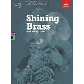 Shining Brass: Book 1 B flat Piano Accompaniments