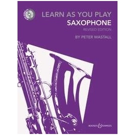 Learn As You Play Saxophone (CD Edition)