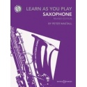 Learn as you Play Saxophone with CD