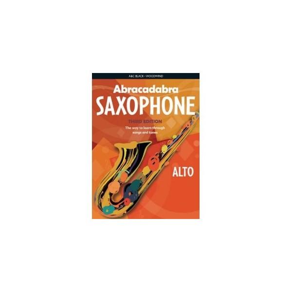 Abracadabra Alto Saxophone Third Edition (2 CD Edition)