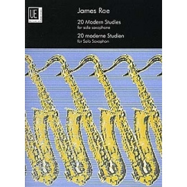 20 Modern Studies For Solo Saxophone