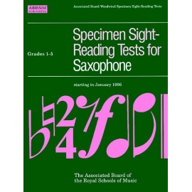 ABRSM Specimen Sight-Reading Tests for Saxophone Grades 1-5