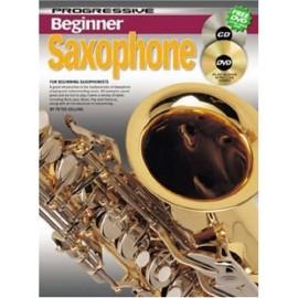Progressive Beginner Saxophone with CD and DVD