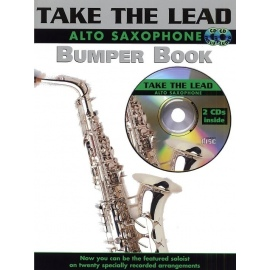 Take the Lead Alto Sax Bumper Book with 2 CDs