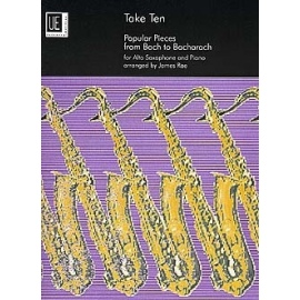 Take Ten: Popular Pieces from Bach to Bacharach arranged for Alto Saxophone and Piano