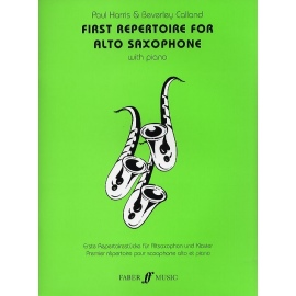 First Repertoire for Alto Saxophone with Piano