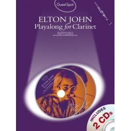 Guest Spot Elton John Playalong for Clarinet with 2 CDs