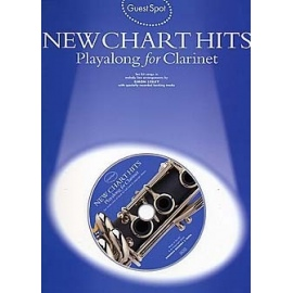 Guest Spot New Chart Hits Playalong for Clarinet