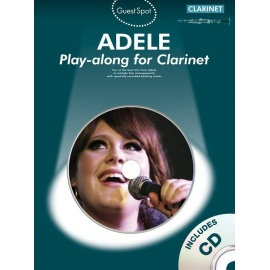 Guest Spot Adele Playalong for Clarinet with CD