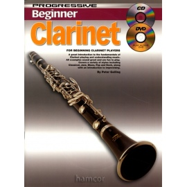 Progressive Beginner Clarinet with CD and DVD