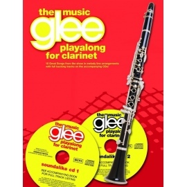 Glee the Music Playalong for Clarinet with 2 CDs