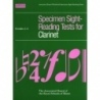 ABRSM Specimen Sight-Reading Tests for Clarinet Grade 1-5
