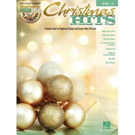 Piano Solo Play-along Christmas Hits