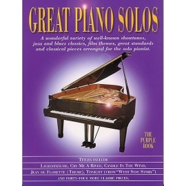 Great Piano Solos The Purple Book