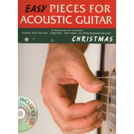 Easy Pieces For Acoustic Guitar: Christmas